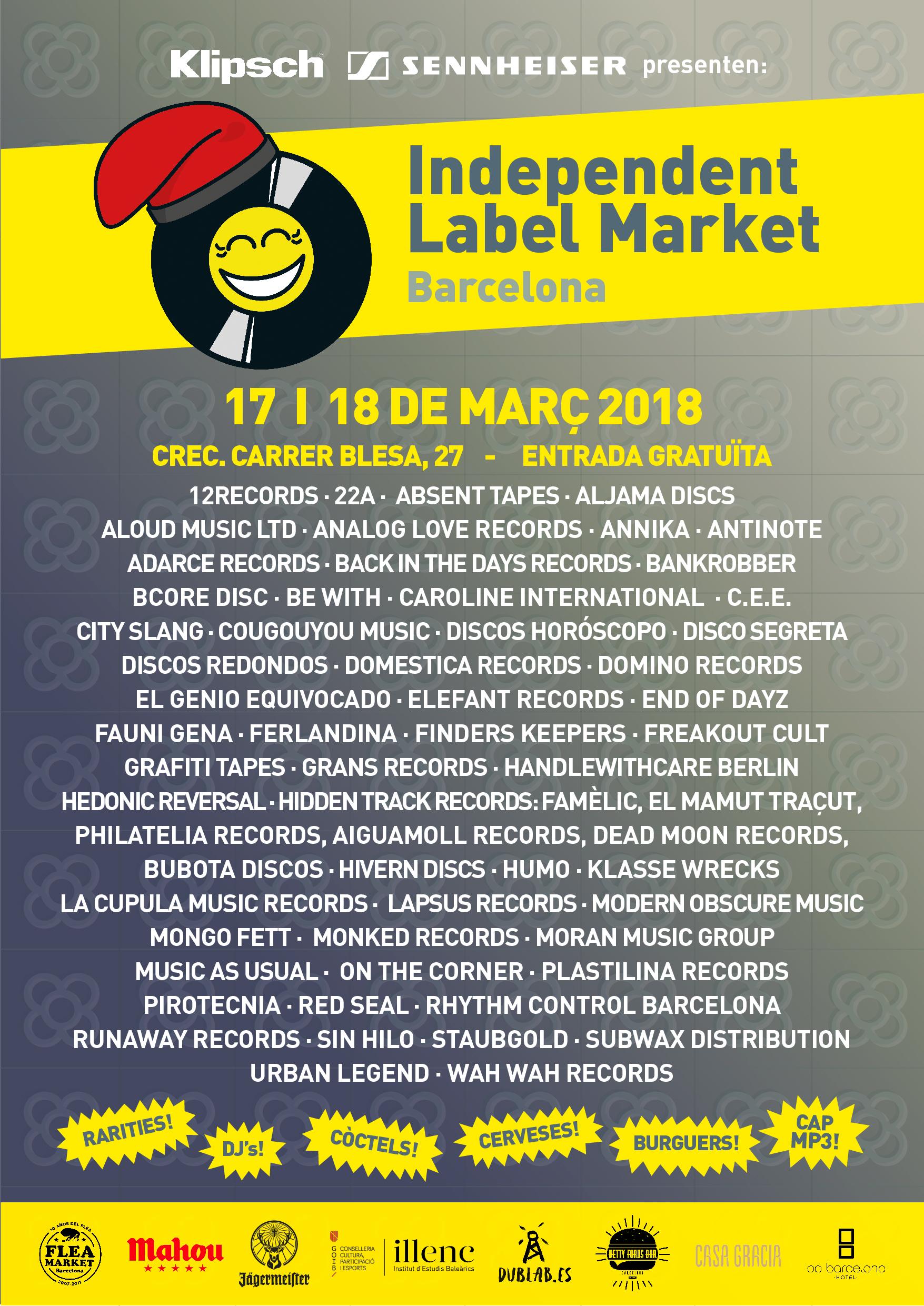Independent Label Market Barcelona 2018