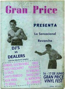 Gran Price Vinyl Fest presenta DJ's vs Dealers
