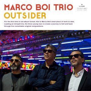 Marco Boi Trío - Outsider - Discos Redondos DR002