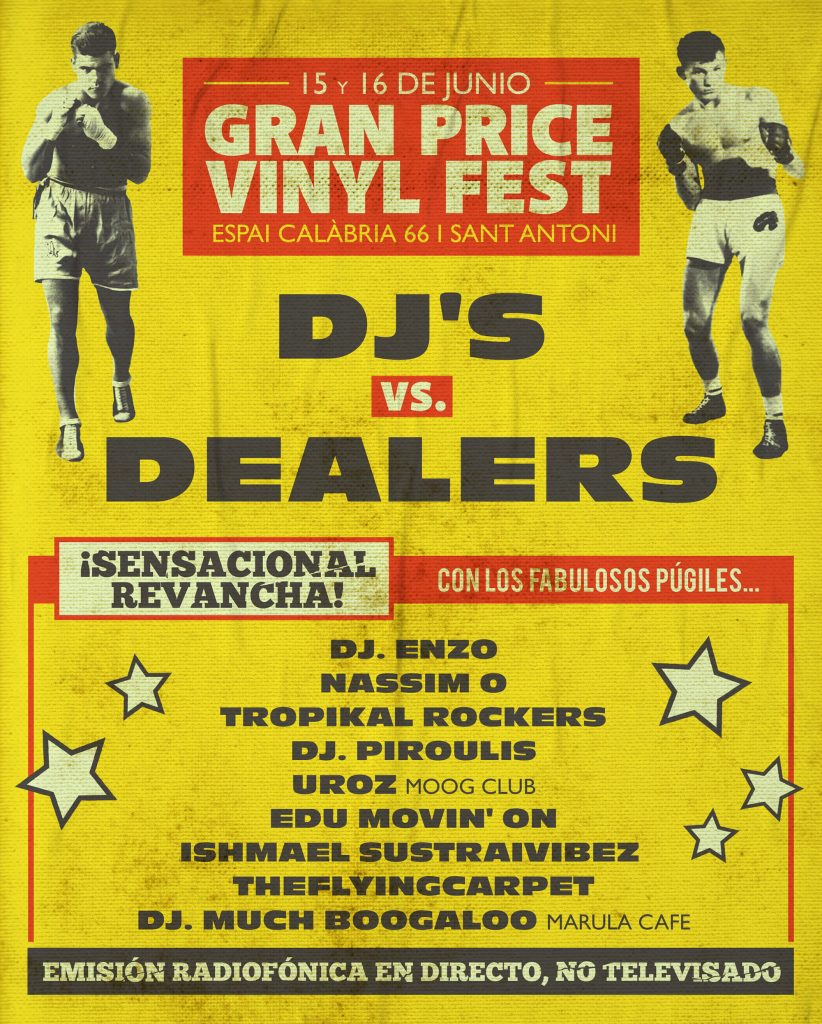 Gran Price Vinyl Fest 2019 – DJ's vs Dealers